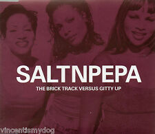SALT N PEPA - THE BRICK TRACK VERSUS GITTY UP (3 track CD single)