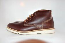 Hudson Bexley Chukka Boots Brown Calf Leather Battle Shoes Men's US 11 UK 10