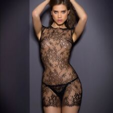 Agent Provocateur Black Lace Ismerelda Slip Dress - Size AP 2 / Small - New