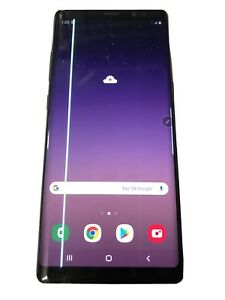 IMPERFECT - Samsung Galaxy Note8 SM-N950 - 64GB - Black (Unlocked) LCD HAS LINES