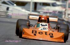 Vittorio BRAMBILLA Mars 761 Grand Prix de Monaco 1976 photographie