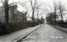 Totley Rise Grove Road Nr Sheffield unused sepia RP old postcard
