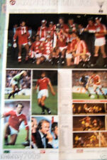 POSTER=MANCHESTER UNITED-DUNDEE UNITED=1984=GUERIN SPORTIVO=CM 80X54