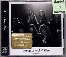 Afterschool: Shh (2014) Korea Japan After School / CD & DVD & CARD TAIWAN