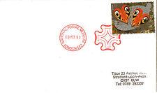 9 mai 1992 Greetings Papillons Housse npm Croix de Malte London EC1 SHS