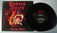 """BAKERS DOZEN - RAISE HELL - 7"""" EP (black vinyl)"""