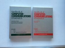Lot Of 2 Vintage 1987 Unread Computer Communications Stallings Volume 1 And 2