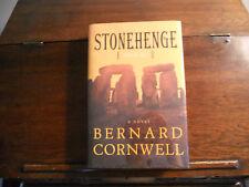 Stonehenge, Bernard Cornwell, Signed 1st edition/1st printing Us 2000 Hcdj