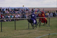 509041 Jousting Tournament Stokes Bay Gosport Hants A4 Photo Print