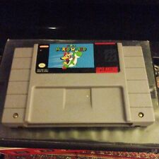 Super Mario World Snes Authentic Tested Works