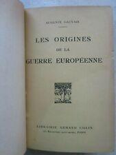 GAUVAIN : LES ORIGINES DE LA GUERRE EUROPEENNE, 1915.