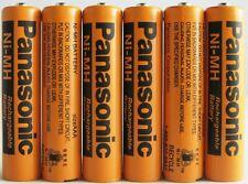 Panasonic NiMH AAA Batterie rechargeable pour téléphones sans fil x six 6piles