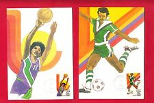 (16) 1st Printing - Robert Peak - USPS 1984 Olympic Postcards - Rare & Beautiful