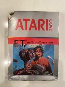Atari E.T.2600 NEW FACTORY SEALED 1982 READ DESCRIPTION