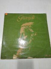 GITANJALI RABINDRANATH TAGORE SANTOSH SEN RARE LP RECORD BENGALI ENGLISH VG+