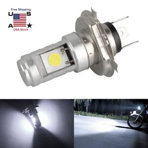 For Motorcycle H4 6500K LED 6W Beam Front Light Bulb Super Bright Headlight