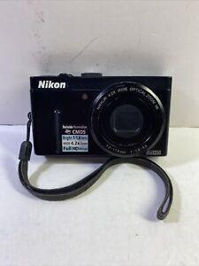 Nikon COOLPIX P300 12.2MP CMOS Digital Camera Full HD 1080p Video (Black) (A1)
