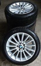 4 BMW Winterräder Styling 237 5er F10 F11 6er F12 245/45 R18 100V M+S ALUFELGEN