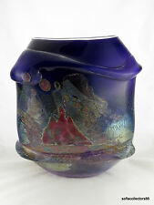 "Chris Hawthorne ""Tidepool Refuge"" Series Vessel - Studio Art Glass"