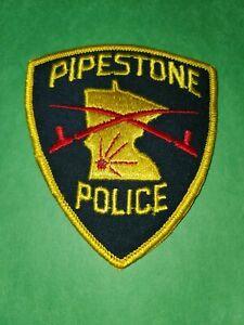 Pipestone Minnesota Police Patch