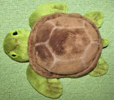 "8"" GUND GUNDIMALS SEA TURTLE PLUSH STUFFED ANIMAL TORTOISE BROWN SHELL GREEN TOY"