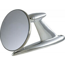 1955-1965 Ford Thunderbird Outside Rear View Mirror, Chrome Base, Stainless