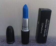 MAC Matte Lipstick, Shade: BLUE BANG! 3g/0.1oz, Brand New In Box