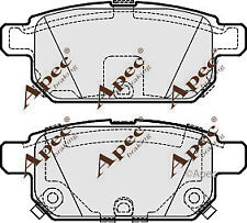 REAR BRAKE PADS FOR SUZUKI SX4 S-CROSS GENUINE APEC PAD1843