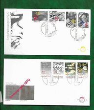 NETHERLANDS  1979 FIRST DAY COVERS