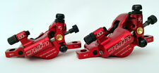 Juin Tech R1 Hydraulic Cable Pull Disc Brake Set Red -  Road | Gravel | Cyclocro
