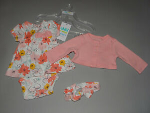 NWT, Baby girl clothes, Preemie, Carter's cardigan set/  ~~SEE DETAILS ON SIZE~~