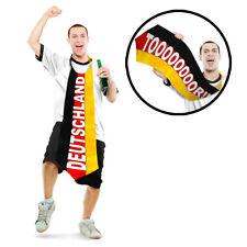 Deutschland XXL Krawatte 120cm Doppelseitig Fahne Fanartikel EM WM Party NEU