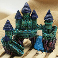 Aquarium Decorations Castle Tower Fish Tank Accessories Ornament Resin Harmless