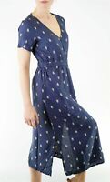 "NEW White Stuff Navy ""Elsewhere"" Floaty Summer Midi Dress RRP £55 Save £30!"