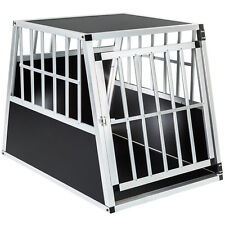 Hundebox Transportbox Alubox Box Hundetransportbox Reisebox Autobox 66x90x69,5cm