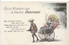 Greetings Postcard - Best Wishes for A Happy Birthday - Ref ZZ5158