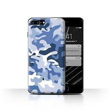 STUFF4 Back Case/Cover/Skin for Apple iPhone 7 Plus/Camouflage Army Navy