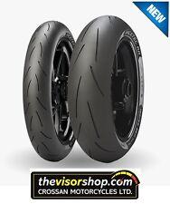 SET 120/70/zr17 K1 & 180/55/zr17 K2 - Metzeler RACETEC RR Treaded RACING Tyres