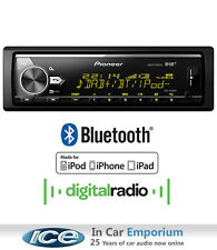 Pioneer MVH-X580DAB radio DAB, MP3 Usb Aux Bluetooth estéreo, juega Ipod Iphone