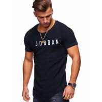 Mens T-shirt Michael Air Legend 23 Jordan Fashion Men shirt Tops Tumblr Cotton