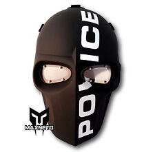 MAXNETO Tactical Airsoft Army of Two Paintball BB Gun Protect Helmet Mask POLICE