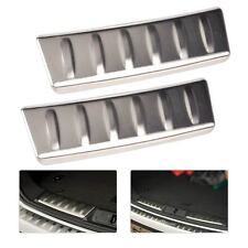 Fit for Jaguar F-Pace 2016 2017 Rear Trunk Door Sill Protector Plate Cover Trim