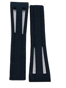 Watch Strap Locman Montecristo Rubber Black Ref 520/521 Lady on Sale New