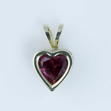 heart Ruby Fine Gemstone Necklaces & Pendants