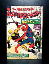 COMICS: Amazing Spiderman #16 (1964), 1st Spidey & DD meeting/1st DD crossover