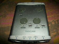 TASCAM US-122L AUDIO MIDI INTERFACE DIGITAL RECORDING