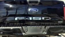 Ford F-150 F150 2018 Tailgate embossed Decal insert set Chrome
