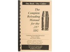 .357 SIG  Reloading Manual LOADBOOKS USA 357 Sig  NEW   Great!