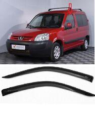 Fit For Peugeot Partner VUI 1996-2008 Side Door Window Deflectors