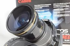 Ultra Wide Angle Macro Fisheye Lens for Canon Eos Digital Rebel & T4i w 18-55 IS